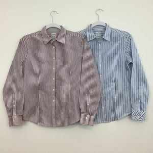 Brooks Brothers Women's Shirt Size 6P  Lot of 2
